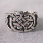 BIKER RING CELTIC KNOT (Sold by the piece) * CLOSEOUT 3.75 EACH