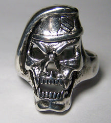 GREENBRAE MILITARY SKULL HEAD BIKER RING  (Sold by the piece)