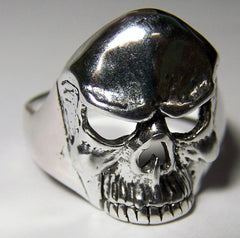SKULL HEAD DELUXE BIKER RING  (Sold by the piece) *