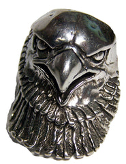 LARGE EAGLE HEAD BIKER RING (Sold by the piece)