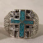 NEW CROSS DELUXE BIKER RING  (Sold by the piece)