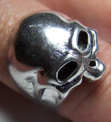 TOP SKULL HEAD DELUXE BIKER RING  (Sold by the piece) *