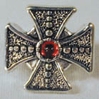 BIKER RING FANCY IRON CROSS (Sold by the piece) * CLOSEOUT NOW $ 3.75 EA
