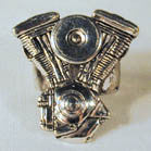 MOTORCYCLE  ENGINE DELUXE BIKER RING (Sold by the piece) *- CLOSEOUT AS LOW AS $ 3.95 EA