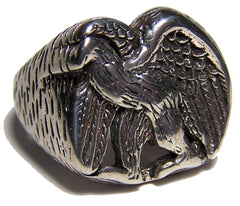 UNITED WE STAND EAGLE BIKER RING (Sold by the piece)