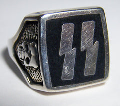 THUNDERBOLTS SS LIGHTNING BIKER RING (Sold by the piece)
