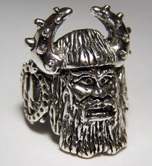 VIKING SS SWASTIKA WARRIOR BIKER RING  (Sold by the piece)