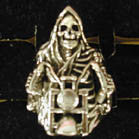 BIKER RING REAPER ON MOTORCYCLE (Sold by the piece)