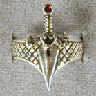BIKER RING DAGGER (Sold by the piece)