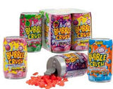BUBBLE GUM CRUSH 4PK CANDY CANS ( sold by the dozen 4PKS )