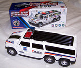 BATTERY OPERATED BUMP AND GO POLICE SUV CAR ( sold by the piece or dozen )