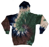 CAMOUFLAGE SWIRL PULLOVER HOODIE (sold by the piece )