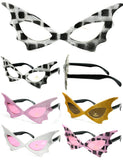 CAT WOMEN PARTY GLASSES (Sold by the piece or dozen )