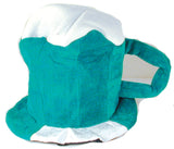 GREEN BEER MUG PLUSH PARTY CARNIVAL HAT (Sold by the piece) * CLOSEOUT $2.00 EA