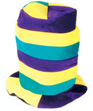 PLUSH CRAZY CARNIVAL HAT (Sold by the piece)-* CLOSEOUT $1.50 EA