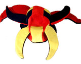 JESTER CRAZY PLUSH CARNIVAL HAT (Sold by the piece) -* CLOSEOUT $2.00 EA