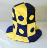 JESTER PLUSH CARNIVAL HAT (Sold by the piece) *- CLOSEOUT $ 2.50 EA