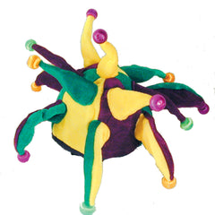 LIGHT UP PLUSH JESTER PARTY 13 LIGHTS CARNIVAL HAT (Sold by the piece) -* CLOSEOUT 3.50 EACH