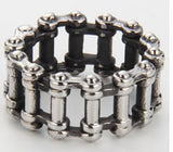 BIKE MOTORCYCLE CHAIN STAINLESS STEEL BIKER RING ( sold by the piece )
