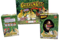 COLORED HATCH & GROW CHICKEN MAGIC EGG (Sold by the piece or dozen)