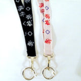 CHINESE WRITING NECKLACE KEY CHAIN LANDYARD (Sold by the dozen) - * CLOSEOUT ONLY 25 CENTS EA