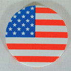 AMERICAN FLAG ROUND BUTTONS (Sold by the dozen) - NOW ONLY 10 CENTS EACH