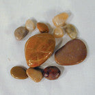 NATURAL POLISHED ROCKS (Sold by the bag) CLOSEOUT $ 1 PER BAG