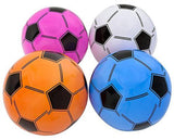 ASSORTED COLORS SOCCER BALL INFLATE 16 INCH (Sold by the dozen)