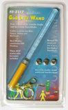 3 COLOR BUBBLE LIGHT UP WANDS (Sold by the dozen) -- * CLOSEOUT NOW IS 25 CENTS EA