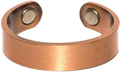 PURE HEAVY COPPER STYLE # P  MAGNETIC RING ( sold by the piece )