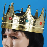 ADULT SIZE JEWELED CROWN ( sold by the piece or dozen ) *- CLOSEOUT NOW $ 3 EA