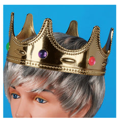 KIDS SIZE JEWELED CROWN ( sold by the piece or dozen )