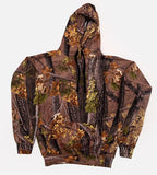 CAMOUFLAGE FOREST PULLOVER HOODIE (sold by the piece )