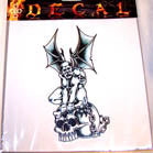 GARGOYLE DECALS (Sold by the dozen) CLOSEOUT NOW ONLY 25 CENTS EA