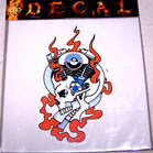 ENGINE SKULL DECALS (Sold by the dozen) CLOSEOUT NOW ONLY 25 CENTS EA