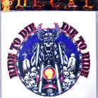 DIE TO RIDE DECALS / STICKER (Sold by the dozen) CLOSEOUT NOW ONLY 25 CENTS EA