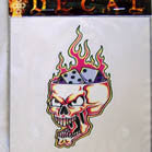 OPEN SKULL DICE DECALS (Sold by the dozen) CLOSEOUT NOW ONLY 25 CENTS EA