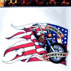 AMERICA FOREVER DECALS (Sold by the piece)