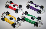 DIE CAST METAL 4 INCH FORMULA RACE CARS (Sold by the piece or dozen) CLOSEOUT NOW $ 1.50 EA