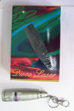 DISCO LASER POINTER LIGHT SHOW KEY CHAIN  ** MAY NEED NEW BATTERIES * CLOSEOUT * (Sold by the piece)