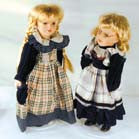 PORCELAIN 16 INCH DOLL (Sold by the piece) -* CLOSEOUT $2.00 EA