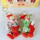CLOWN PORCELAIN DOLL KEY CHAIN (Sold by the PIECE OR dozen) NOW ONLY 50 CENTS EA BY THE DZ