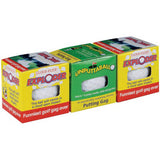 DOUBLE TROUBLE TRIPLE PACK TRICK GOLF BALLS ( sold by the set )