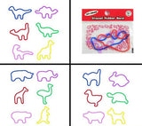 SILLY ASST RUBBER BANDS ASST COLORS (Sold by the dozen packs) CLOSEOUT NOW 10 CENTS PER PACKAGE