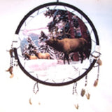 ELK JUMBO 24 INCH WAR SHIELD (Sold by the piece) -* CLOSEOUT NOW ONLY 7.50  EA