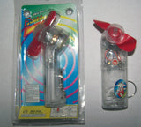 BATTERY OPERATED HAND FAN KEY CHAIN ( Sold by the dozen ) CLOSEOUT NOW ONLY 25 CENTS EA