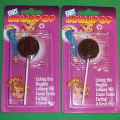 TRICK FART LOLLIPOP CANDY (Sold by the dozen)
