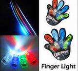FINGER LIGHT RAY BEAMS (Sold by the dozen cards)