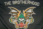 THE BROTHERHOOD  3' X 5' BIKER FLAG (Sold by the piece)