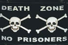 DEATH ZONE 3' X 5' FLAG (Sold by the piece)